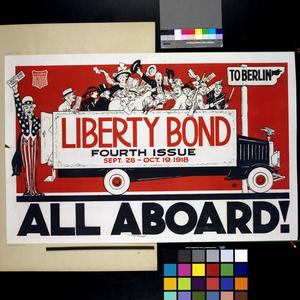 All Aboard! - Liberty Bond Fourth Issue