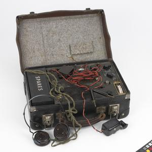 Wireless Equipment, Type A Mk III  (Suitcase Radio),  British