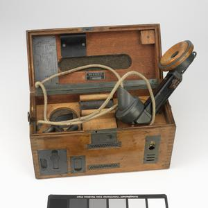 Line Communication Equipment, Feldfernsprecher 16, German