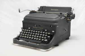 Reproduction Equipment, Typewriter, Remington 'Noiseless'