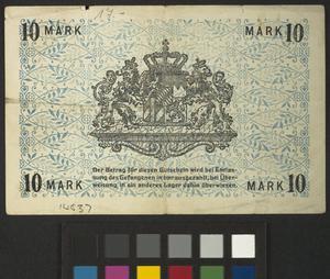 emergencycurrency, notgeld, 25 pfennig, Germany