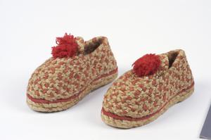 shoes, slippers, child's, handmade