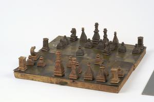 chess set, boxed, German