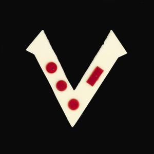 badge, 'V for Victory', British