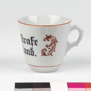 cup, propaganda, German