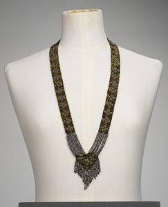 necklace, beadwork, handmade