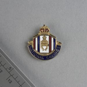 badge, National Savings: British