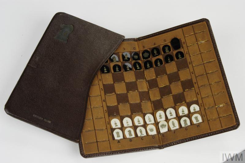 Pocket Game British Pocket Chess Set Eph 1553