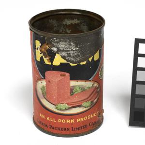 tin can, from tunnel in Colditz