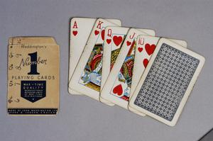 playing cards, British ('Number 1 Playing Cards')