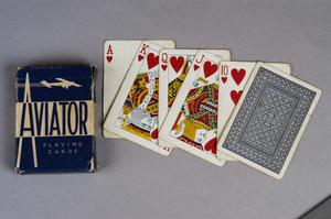 playing cards, American, 'Aviator Playing Cards