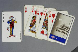 playing cards, British ('Free French Forces')