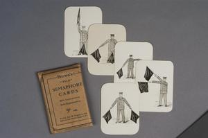 self-instruction cards, British, 'Brown's 'Vick' Morse Cards for Self-Instruction/Self-Examination
