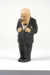 """""""Winston Churchill"""" doll"""