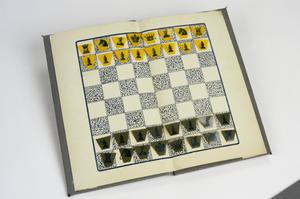 pocket game, British, 'ABC Chess Cel. Pocket Size
