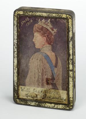 Queen Alexandra's gift 1914 tin