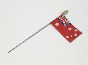 miniature flag, Australian Merchant