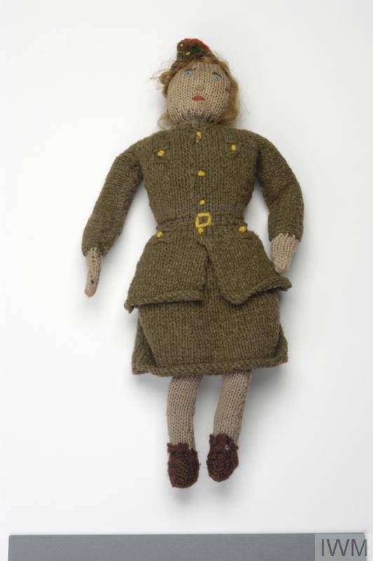 Free Knitting Pattern Toy Soldier : Knitted ATS Doll (EPH 2877)