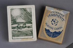 playing cards, British, 'Bystander 'Fragments' Playing Cards ('Well if you knows a better 'ole, go to it')