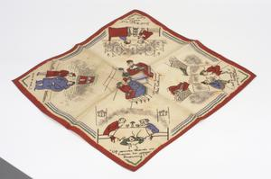handkerchief, instructional and propaganda, British