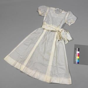 bridesmaid dress made from parachute silk