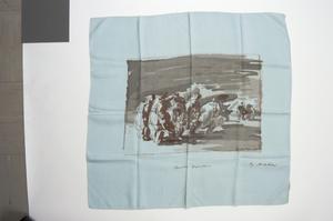 scarf, Ascher, 'Bomber Departure'