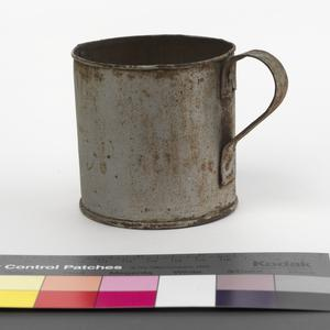 mug made from a condensed milk tin