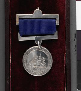 Royal Naval Branch National Temperance League medallion