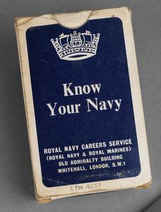 'Know Your Navy' flash cards