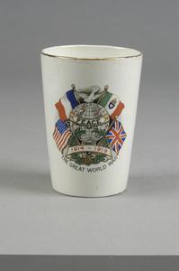 beaker, 'Peace 1919', commemorative