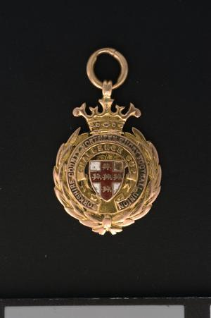Sport's medal, Yorkshire County Northern Rugby Football Union 1909-10