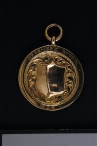 Sport's medal, Grasmere Sports, 1924, Heavy Weight  Wrestling