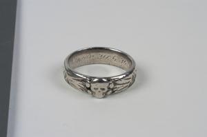 ring, SS 'Death's Head' (Totenkopfring der SS)
