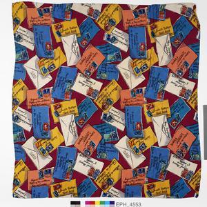 scarf, Jacqmar, 'Envelopes