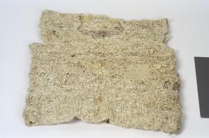 waistcoat made from recovered wool