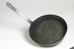 frying pan (made from salvaged aluminium)