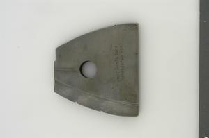 spade cutter for finish-boring magazine of 60pdr Mk.II/L shrapnel shell.  Womens work.