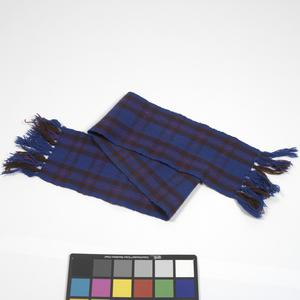 scarf, as made in POW camp