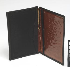 wallet, as used to contain forged documents carried by Oliver Philpot during his escape from Stalag Luft III