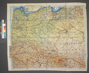 map, Germany and Central Europe