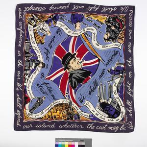 scarf, 'Churchill'