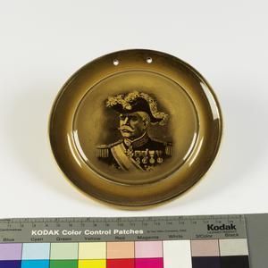 wall plate, Field Marshal Gerald Pau