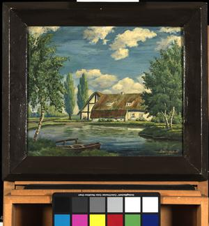 oil painting (rural landscape)