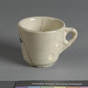 mug, earthenware