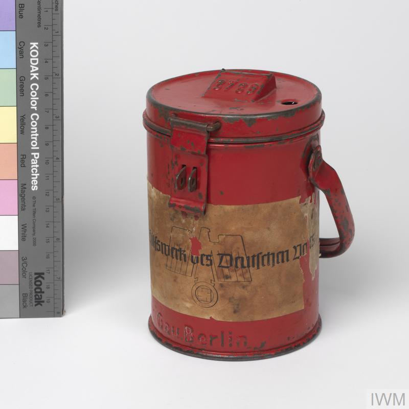 collecting box, Winterhilfswerk (Winter Relief)