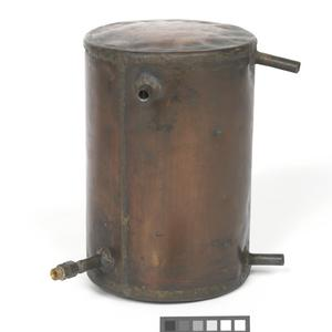 part of an illicit still, used to make alcohol