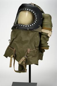 Respirator, anti-gas, C.3 Baby Protective Helmet