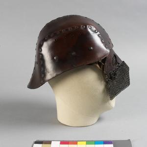 Helmet, leather tank helmet