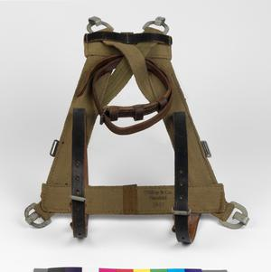 M1939 'A' frame combat load carrying pack harness: German