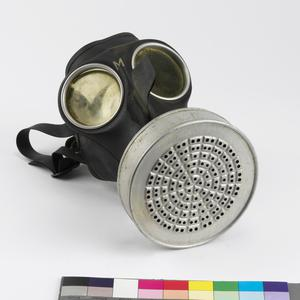 Respirator, anti-gas, Volksgasmaske VM40 (economy): German